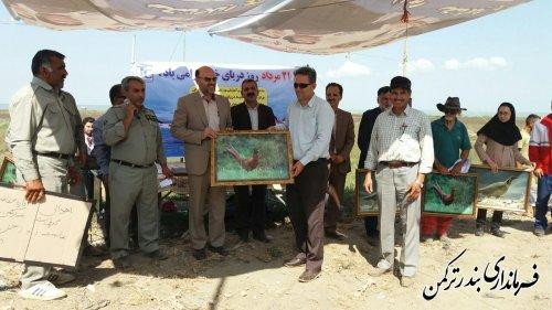 جشنواره فرهنگی، ورزشی و هنری در روستای ساحلی قره سو شهرستان ترکمن