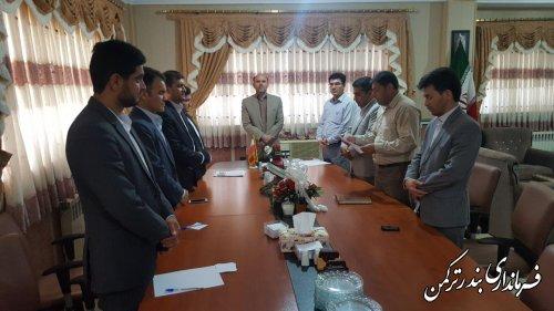 اعضای هیات رئیسه شورای اسلامی شهر بندر ترکمن انتخاب شدند
