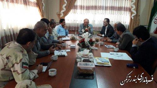 جلسه بررسی مشکل آب شرب جزیره آشوراده برگزار شد