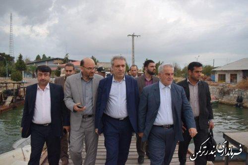 بازدید رئیس سازمان میراث فرهنگی، صنایع دستی و گردشگری کشور از جزیره آشوراده