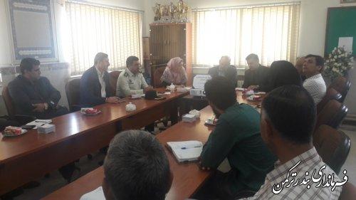 دومین جلسه کمیته پیشگیری از خودکشی سال 96 شهرستان ترکمن تشکیل شد