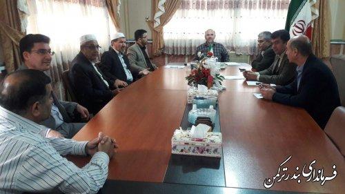جلسه امحاء آرا و اوراق انتخابات شهرستان ترکمن برگزار شد