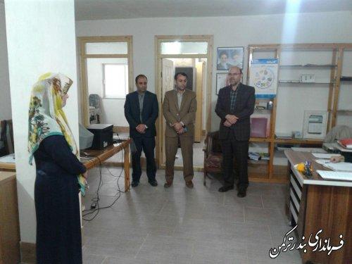 بازدید فرماندار شهرستان ترکمن  از خانه مهربانی طاها ترکمن صحرا