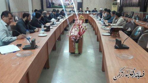 سومین جلسه ستاد اشتغال شهرستان ترکمن برگزار شد
