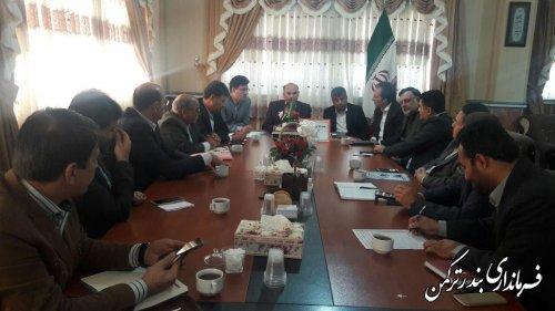 هفتمین جلسه ستاد اقتصاد مقاومتی شهرستان ترکمن برگزار شد