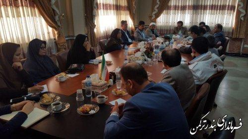 سومین جلسه انجمن کتابخانه عمومی شهرستان ترکمن برگزار شد