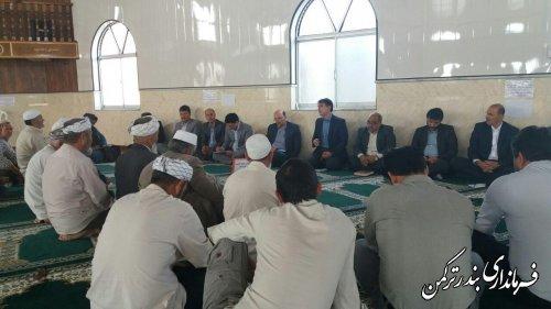 هشتمین جلسه ستاد اقتصاد مقاومتی شهرستان ترکمن برگزار شد