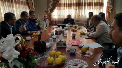 جلسه بررسی عملکرد هیئت سوارکاری شهرستان ترکمن برگزار  شد