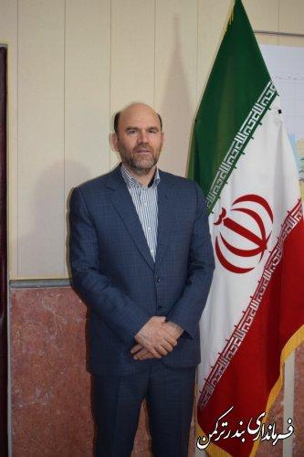 فرماندار شهرستان ترکمن طی پیامی هفته بسیج را تبریک گفت