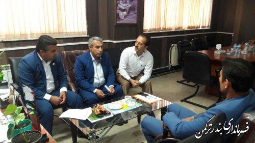 جلسه پسماند شهرستان ترکمن برگزار شد
