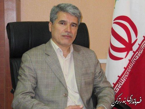 پیام تبریک سرپرست فرمانداری شهرستان ترکمن به مناسبت آغاز هفته وحدت