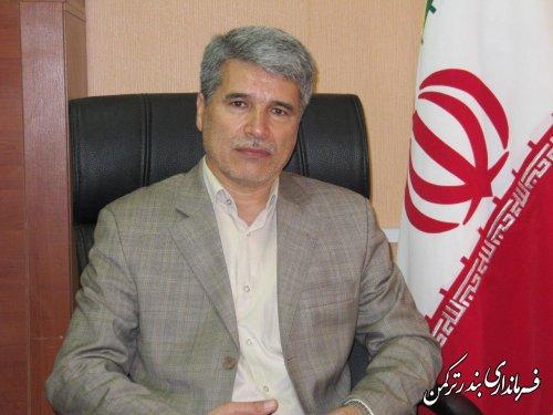 پیام تبریک سرپرست فرمانداری ترکمن به مناسبت هفته پژوهش