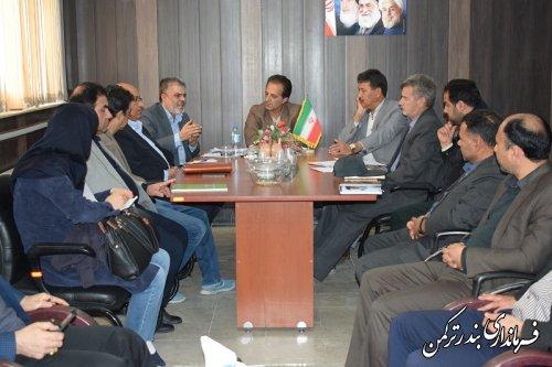 جلسه ثبت وقایع حیاتی شهرستان ترکمن برگزار شد