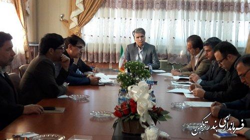 دومین جلسه شورای حفاظت از منابع آب زیرزمینی شهرستان ترکمن تشکیل شد