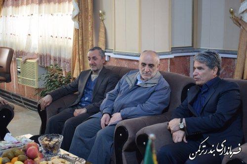 دیدار دبیر هیأت عالی گزینش کشوربا سرپرست فرمانداری ترکمن