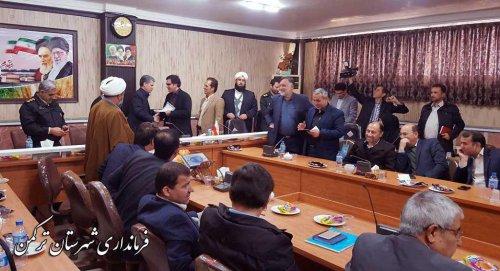 مشاور رسانه ای فرماندار ترکمن معارفه شد