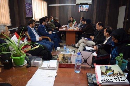 جلسه ستاد حاشیه نشینی و ساماندهی متکدیان شهرستان ترکمن برگزار شد