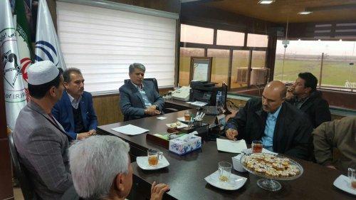 جلسه هم اندیشی اعضای هیئت سوارکاری شهرستان ترکمن با سرپرست فرمانداری برگزار شد