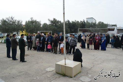 اعزام کاروان راهیان نور شهرستان ترکمن به مناطق عملیاتی جنوب کشور