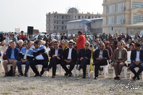 افتتاح دهکده گردشگری روستایی بخش مرکزی شهرستان ترکمن