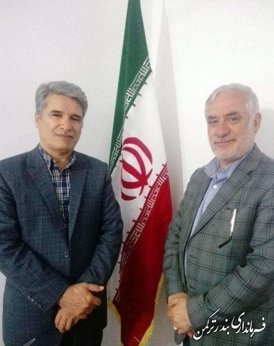 دیدار دبیر کمیسیون امنیت ملی و سیاست خارجی مجلس شورای اسلامی با فرماندار ترکمن