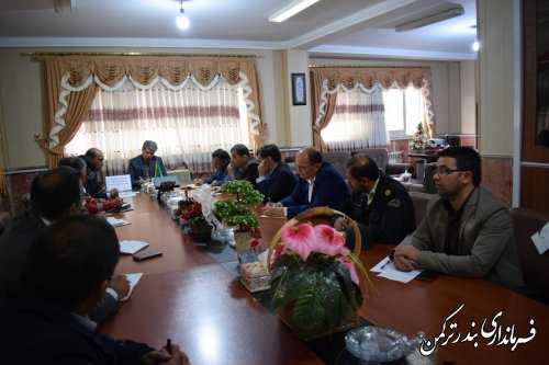 جلسه هماهنگی برگزاری مسابقات والیبال ساحلی قهرمانی کشور درشهرستان ترکمن تشکیل شد