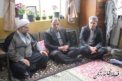 دیدار معاون سیاسی امنیتی و اجتماعی استاندار با ائمه جمعه شهرستان ترکمن