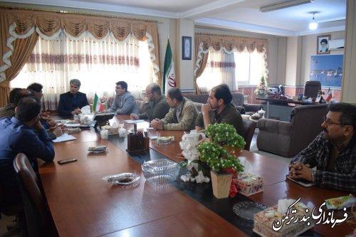 جلسه بررسی مشکلات روستای نیازآباد برگزار شد