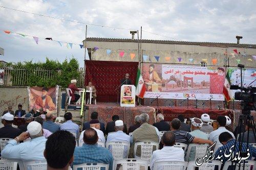 مختومقلی فراغی شاعری ملی، اسلامی و بین المللی است