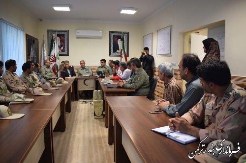 حضور فرماندار در کارگاه آموزشی مبارزه با صید و قاچاق پرندگان شکاری
