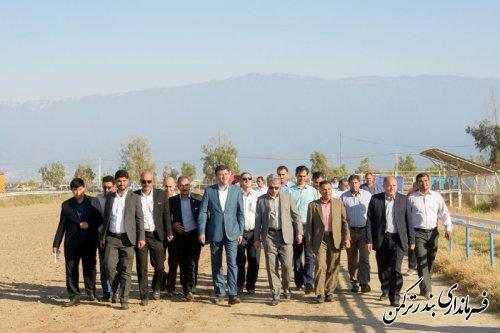 حضور فرماندار در میدان سوارکاری شهدای شهرستان ترکمن