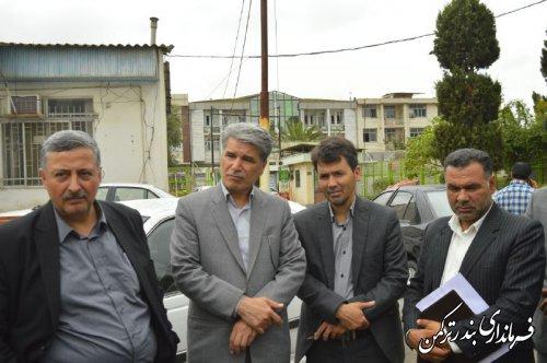 جلسه بررسی مشکلات حوزه شهری و شهرداری بندرترکمن برگزار شد