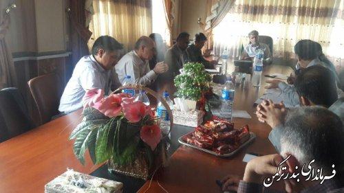 اولین جلسه کارگروه تنظیم بازار شهرستان ترکمن برگزار شد