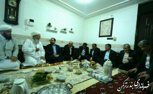 دیدار معاون پارلمانی رئیس جمهور با ائمه جمعه شهرستان ترکمن