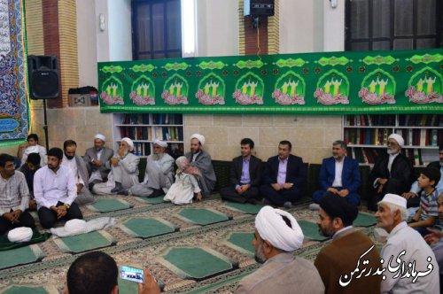 مراسم جشن غدیر در شهرستان ترکمن برگزار شد