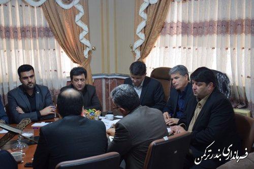 نشست هم اندیشی فرمانداران غرب استان گلستان