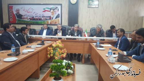 دومین جلسه مجمع خیرین اجتماعی شهرستان ترکمن برگزار شد