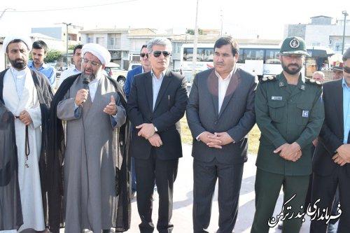 اعزام کاروان راهیان نور دانش آموزی شهرستان ترکمن به مناطق عملیاتی غرب کشور