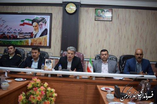 جلسه کارگروه ساماندهی امور جوانان شهرستان ترکمن برگزار شد