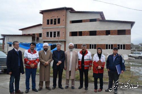 نشست شورای اجرایی جمعیت هلال احمر شهرستان ترکمن برگزار شد