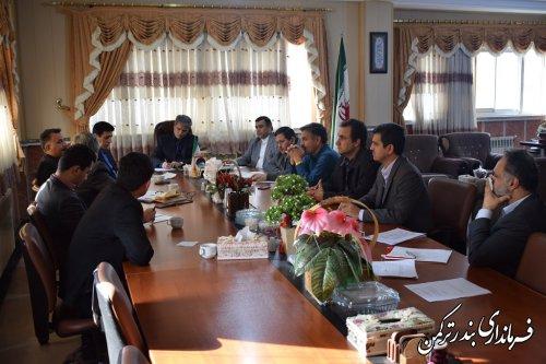 سیزدهمین جلسه ستاد تنظیم بازار شهرستان ترکمن برگزار شد