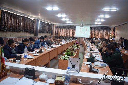 چهارمین جلسه ستاد گرامیداشت چهلمین سالگرد پیروزی انقلاب اسلامی در شهرستان ترکمن برگزار شد