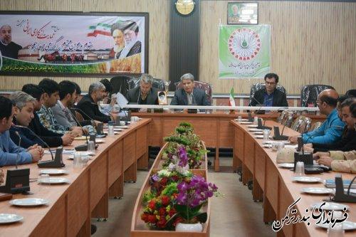 جلسه هماهنگی روابط عمومی های شهرستان ترکمن برگزار شد