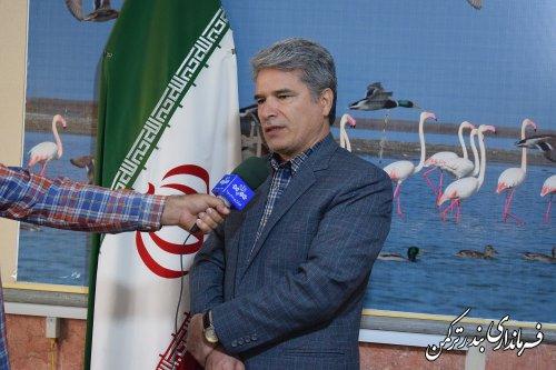 افتتاح و کلنگ زنی70 پروژه عمرانی، اقتصادی و اشتغالزا در شهرستان ترکمن