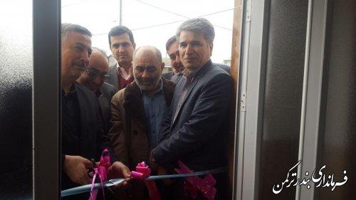 افتتاح مسکن اقشار کم درآمد در روستای پنج پیکر شهرستان ترکمن
