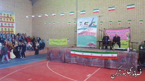 جشن انقلاب در روستای قره قاشلی