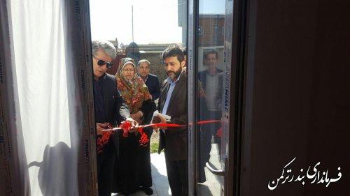 افتتاح پروژه های عمرانی، اقتصادی و اشتغالزایی کمیته امداد امام خمینی (ره) شهرستان ترکمن
