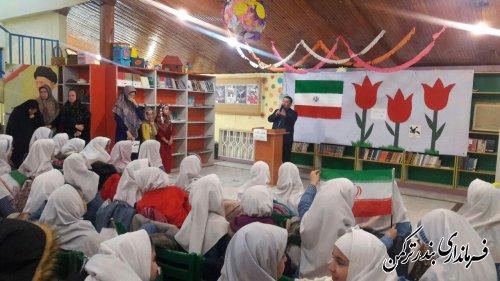 برگزاری جشن انقلاب در کانون پرورش فکری کودکان و نوجوانان شهرستان ترکمن