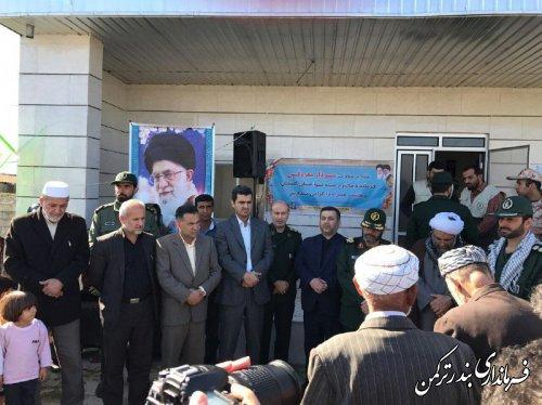 اجرای طرح خدمات رسانی انقلابی، جهادی بی منت بسیج سازندگی در روستای یموت