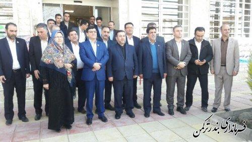 ساختمان بیمه ایران شعبه بندرترکمن افتتاح و به بهره برداری رسید